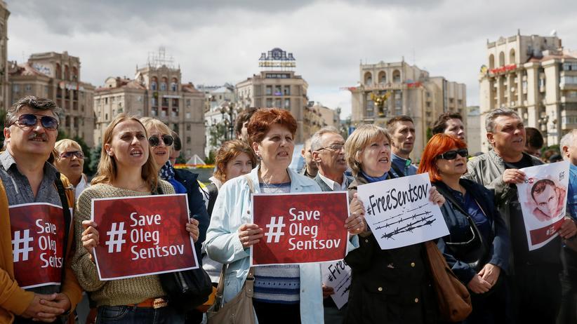 Russland: Oleh Senzow ist seit 100 Tagen im Hungerstreik