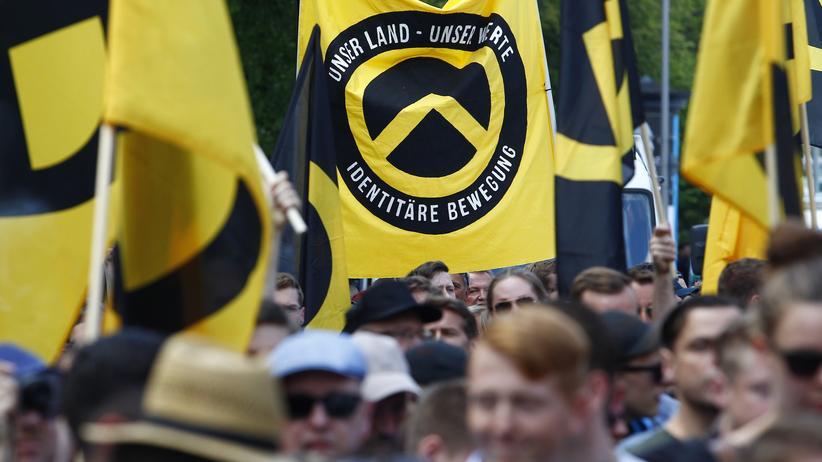 Rechtsextremismus: Die Zahl der politisch motivierten Straftaten durch die Identitäre Bewegung nimmt zu.