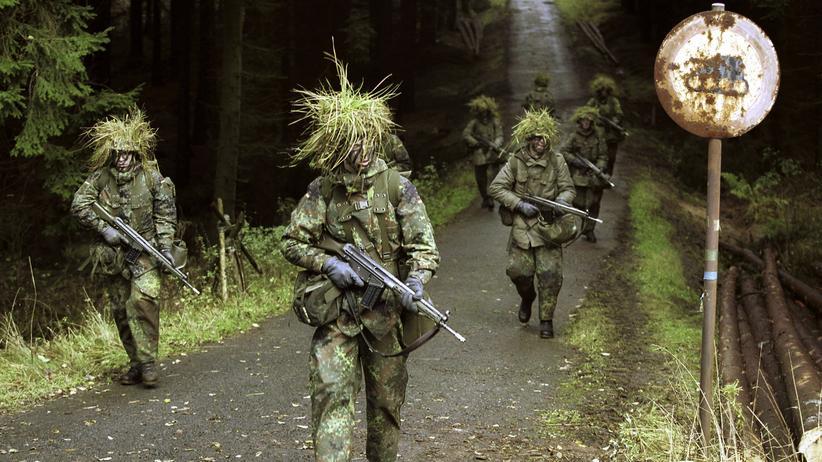 """Wehrdienst: """"Absurde Wochen mit viel Schlamm im Gesicht"""""""