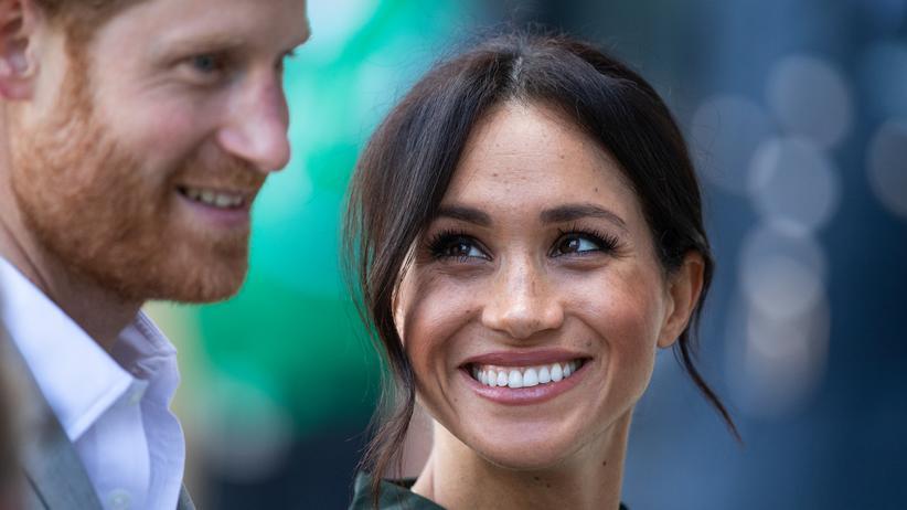 Britisches Königshaus : Herzogin Meghan erwartet ihr erstes Kind