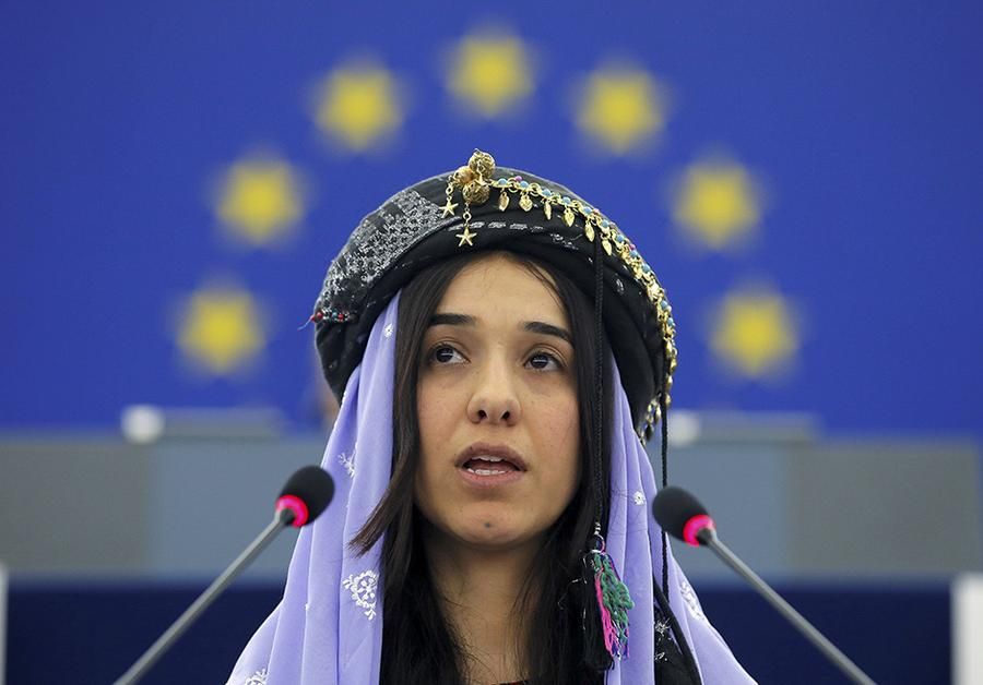 Nadia Murad : IS-Terrroristen handeln weiter mit den Frauen | ZEIT ONLINE