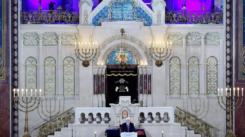 Diskriminierung: Josef Schuster während seiner Rede auf der Gedenkveranstaltung