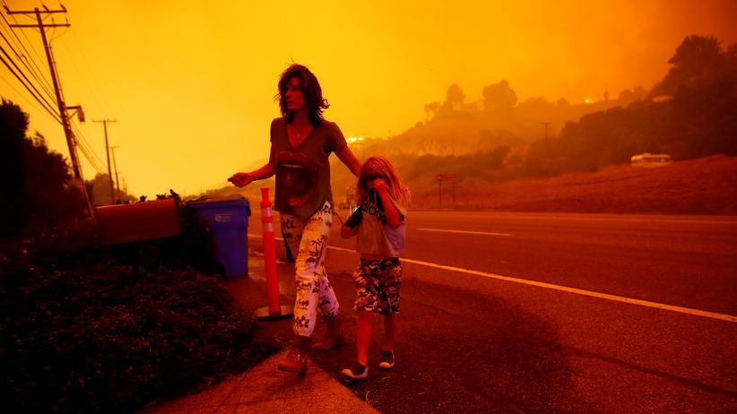 Kalifornien: Verheerende Flammen