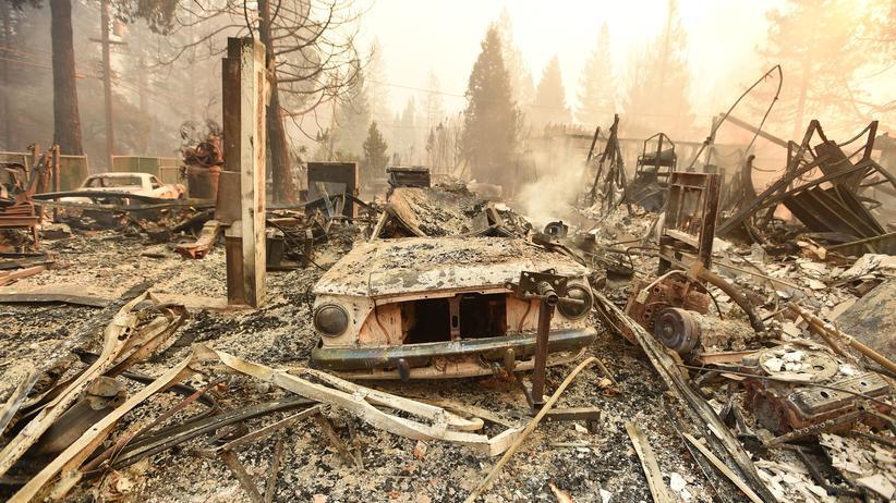 Kalifornien: Tote und Verletzte bei Waldbränden