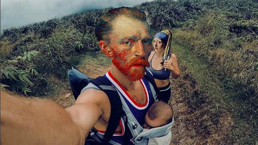 Machst du noch 'nen Selfie, Rembrandt?: Diese Bilder verbinden alte Kunst mit moderner Popkultur