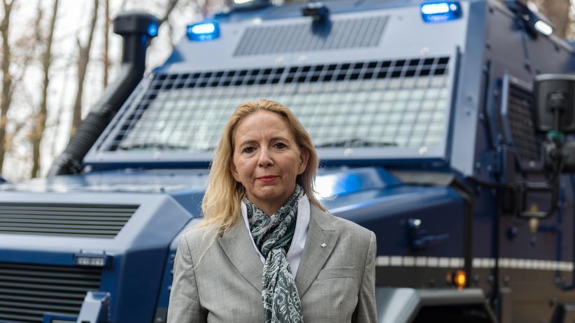 """Barbara Slowik: """"Ich erzeuge gefühlte Sicherheit"""""""