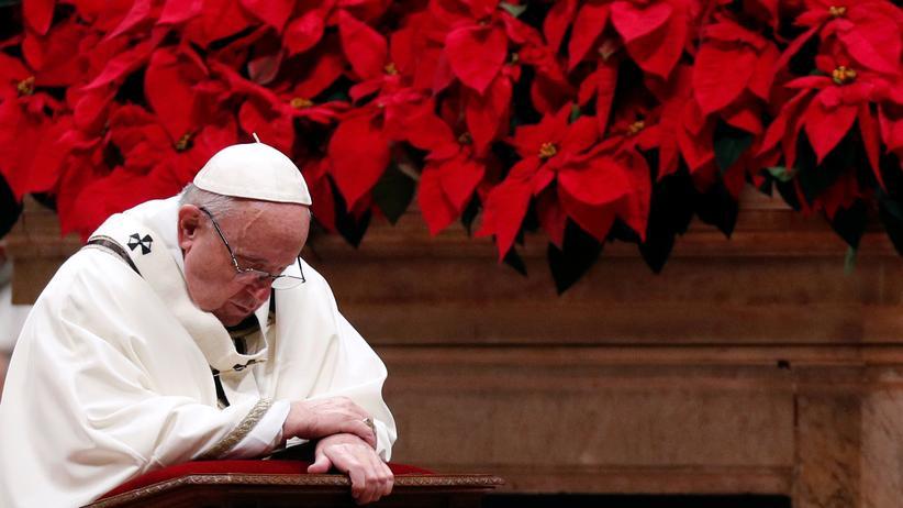 """Papst Franziskus: """"Der Mensch ist gierig und fresssüchtig geworden"""""""
