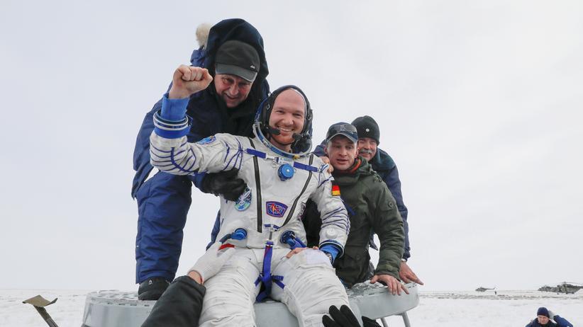 Raumfahrt: Alexander Gerst zurück auf der Erde