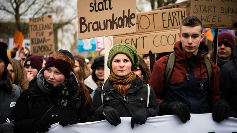 """Schulstreik: """"Ich wünschte, wir würden genauso aktiv werden wie Ihr in Deutschland"""""""