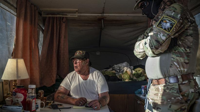 Grenze USA-Mexiko: Patrouillieren, bis die Mauer gebaut ist