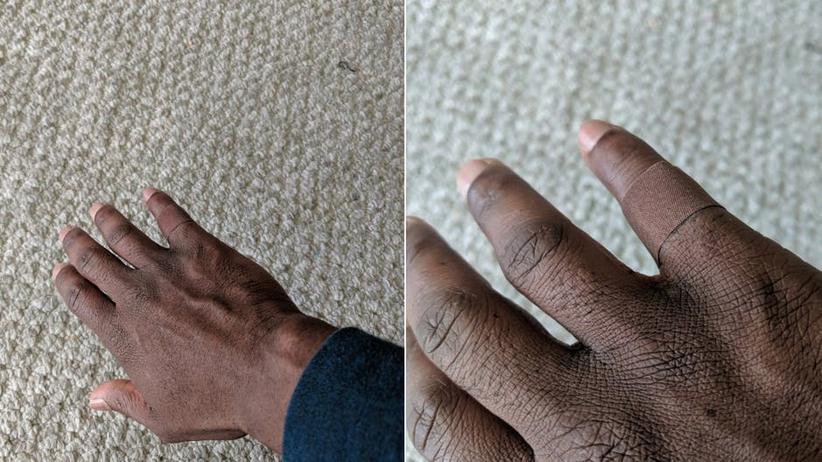 Alltagsprodukte: Dieses Bild zeigt, dass noch zu wenig an People of Color gedacht wird
