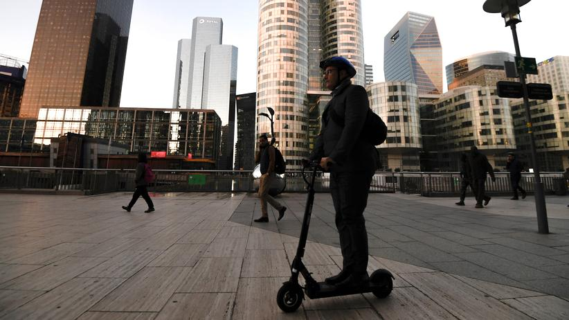 E-Scooter: Paris will Elektrotretroller reglementieren