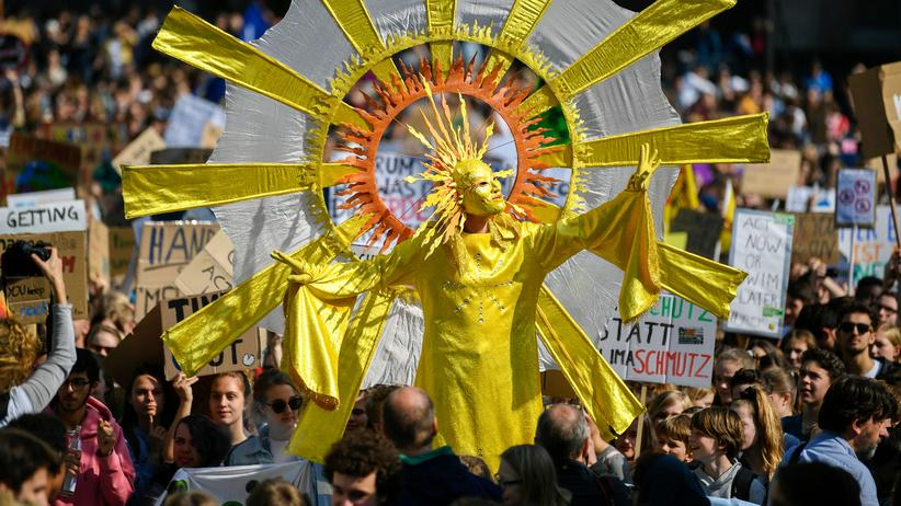 Fridays for Future: Zehntausende Schüler und Studenten demonstrieren für Klimaschutz