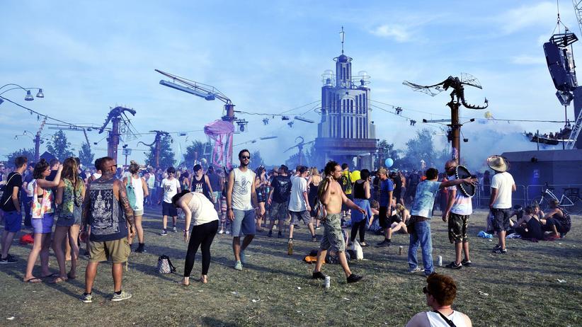 Tanzen an der Turmbühne: das Fusion Festival 2016