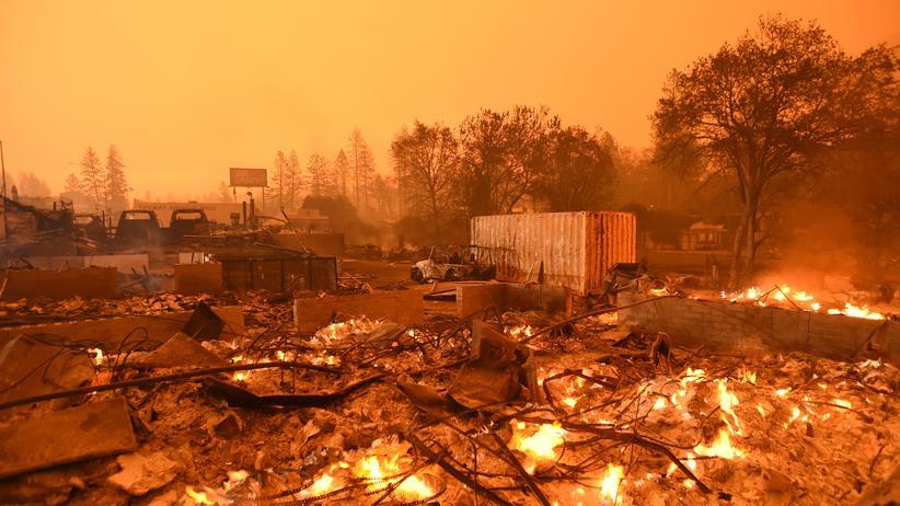 Kalifornien: Defekte Stromleitungen für Waldbrand verantwortlich