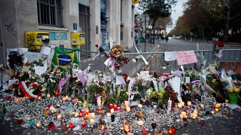 Terrorismus: Der Tatort vor der Pariser Konzerthalle Bataclan
