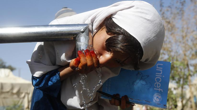 Jeder Dritte Mensch hat keinen Zugang zu sauberem Trinkwasser
