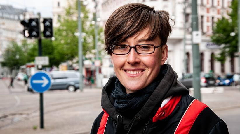 Magdeburg: Julia Mantwill vom Café Central hat einen Plan für den Platz. Sie arbeitet an einem neuen Image.