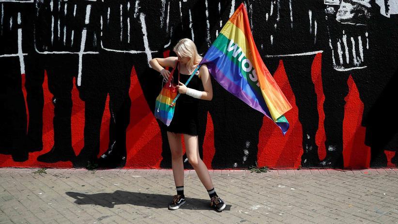 """Homosexualität in Polen: """"Ich bin keine Ideologie, ich will nur lieben"""""""
