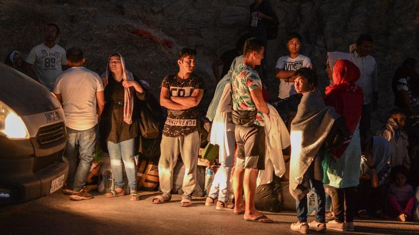 Griechenland: Ausschreitungen im Flüchtlingslager auf Lesbos