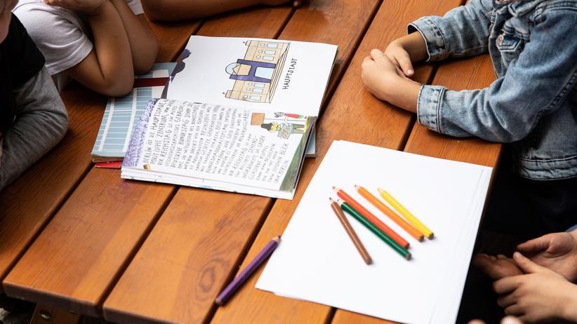 Integration: Kinder in einer Kita in Berlin