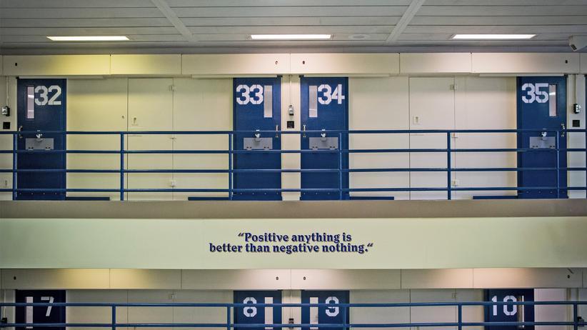 US-Gefängnis: Gefängniszellen auf Rikers Island (Archiv)