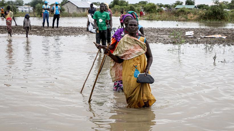 Regenfälle: Überschwemmungen im Südsudan treffen fast eine Million Menschen