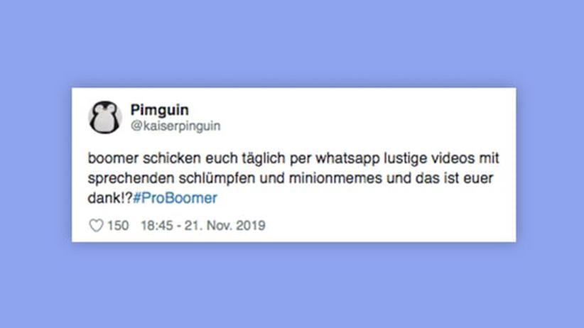 #ProBoomer: Millennials bedanken sich ironisch für die Taten der Babyboomer