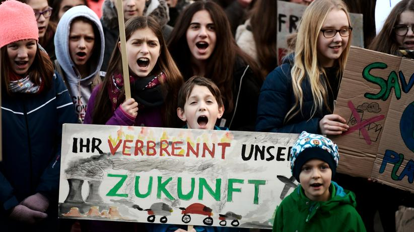 Fridays for Future Demonstrantinnen und Demonstranten