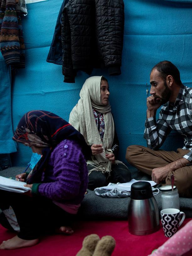 Lesbos: Flüchtlingslager Lesbos