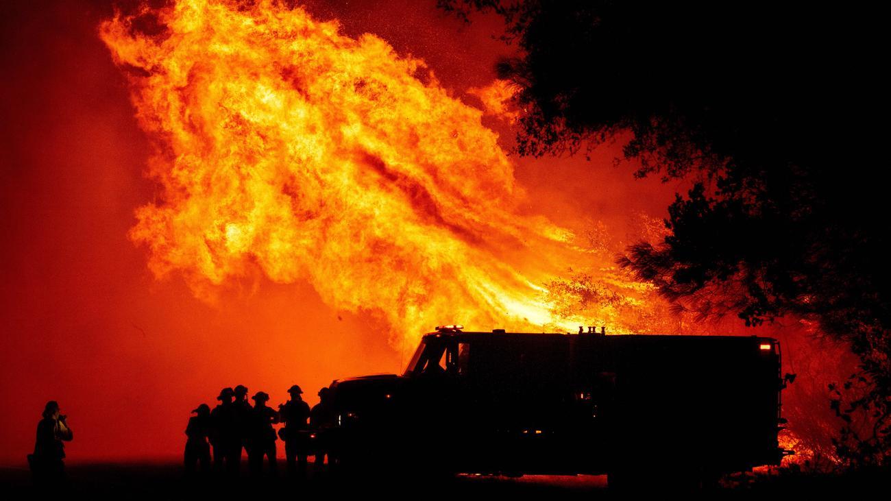 Kalifornien Brand
