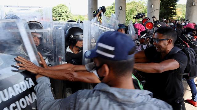 Interamerikanische Menschenrechtskommission: Menschenrechtler kritisieren Angriffe auf Migrantentreck in Mexiko