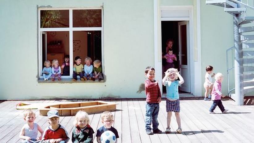 Kindergarten: Und raus bist du
