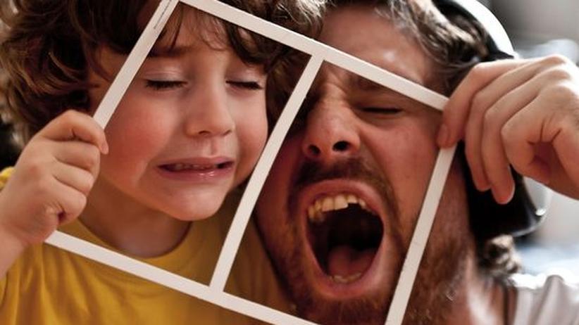 Väter: Viele Väter fragen sich, ob sie ihrer Aufgabe gerecht werden.