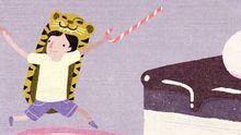 Ideale Kindheit: Das Glück im Mehlkloß