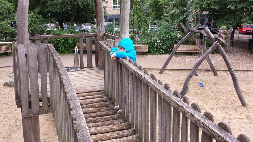 Klettergerüst Du Hast Ne : Ein ruhiges wochenende familie baby kind und meer