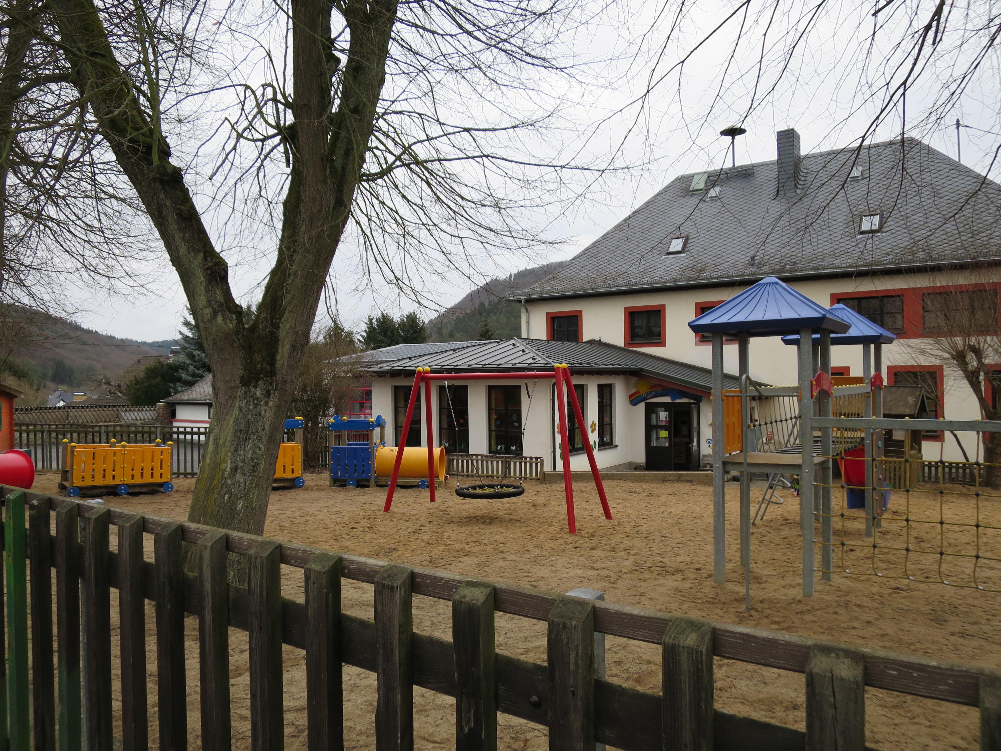 Die Kita Regenbogen in Antweiler
