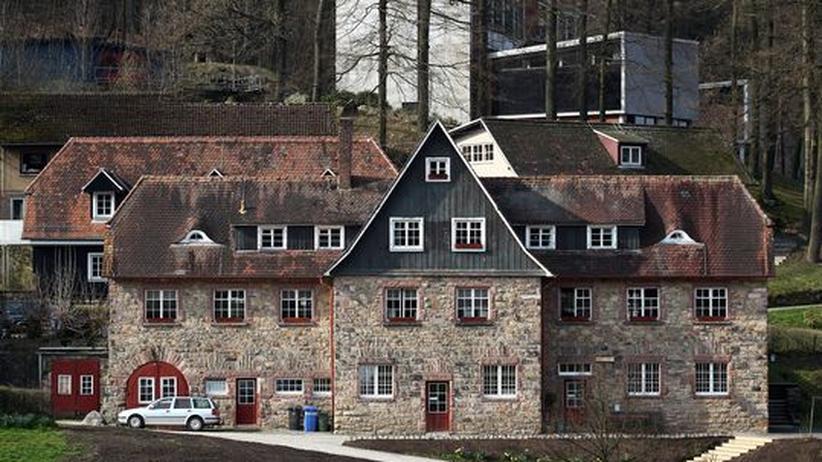 Blick auf die Odenwaldschule in Heppenheim