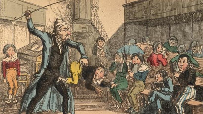 Sie war Feindbild und Ansporn für die Reformer: Die autoritaere Schule des 19. Jahrhunderts