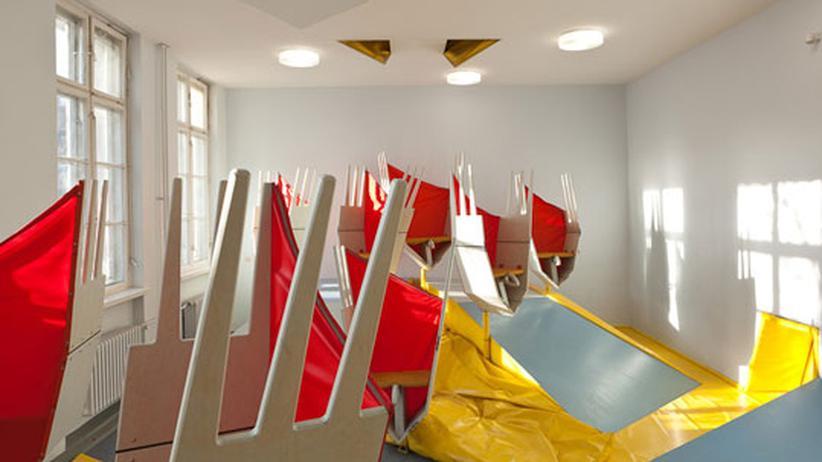Lernen 2022: Auch so können Klassenräume aussehen: In der Erika-Mann Grundschule in Berlin-Wedding