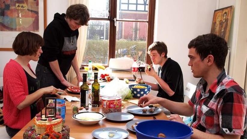 Küche der Bremer Abi-WG