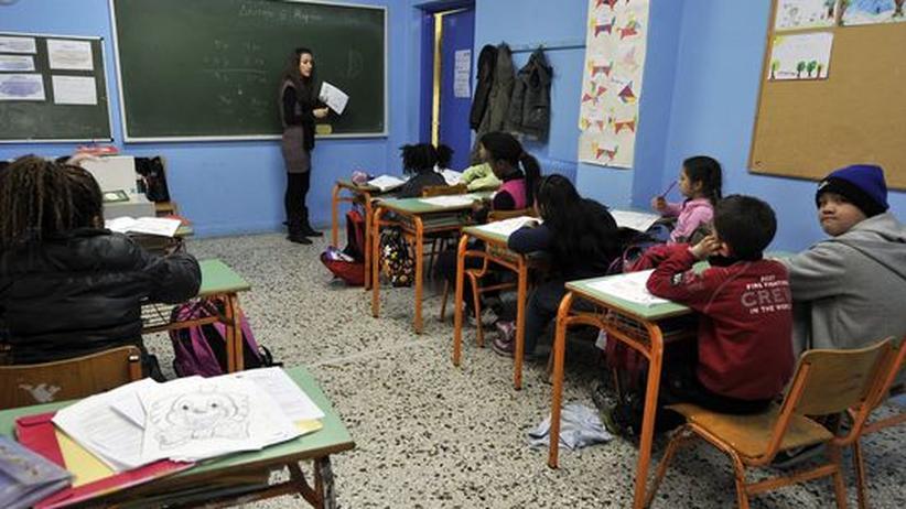 Griechenland: Gelernt wird nach der Schule