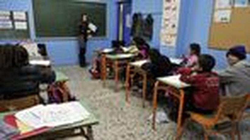 Griechenland: Die Krise erreicht die Klassenzimmer