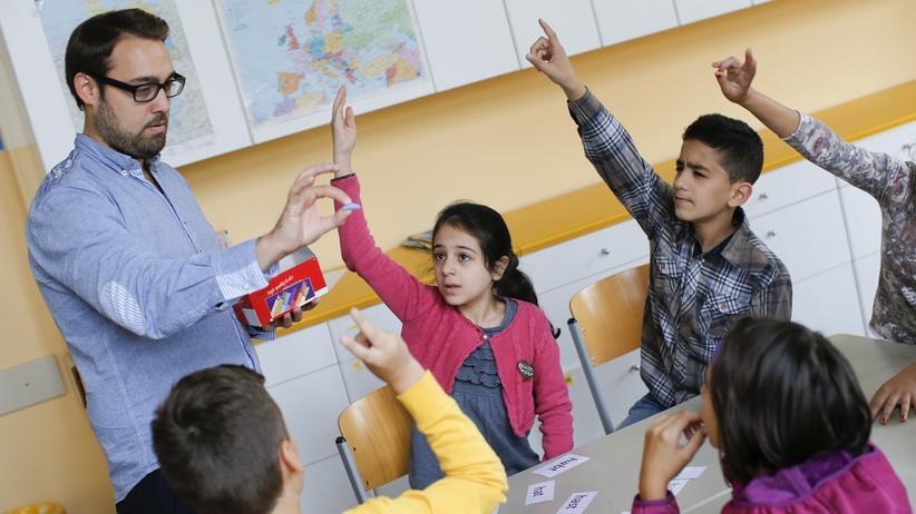 Bildungskrise der Jungen: Willkommensklasse einer Berliner Schule