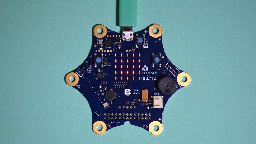 Programmieren: Mit dem Calliope mini sollen schon Grundschüler auf die Digitalisierung vorbereitet werden.