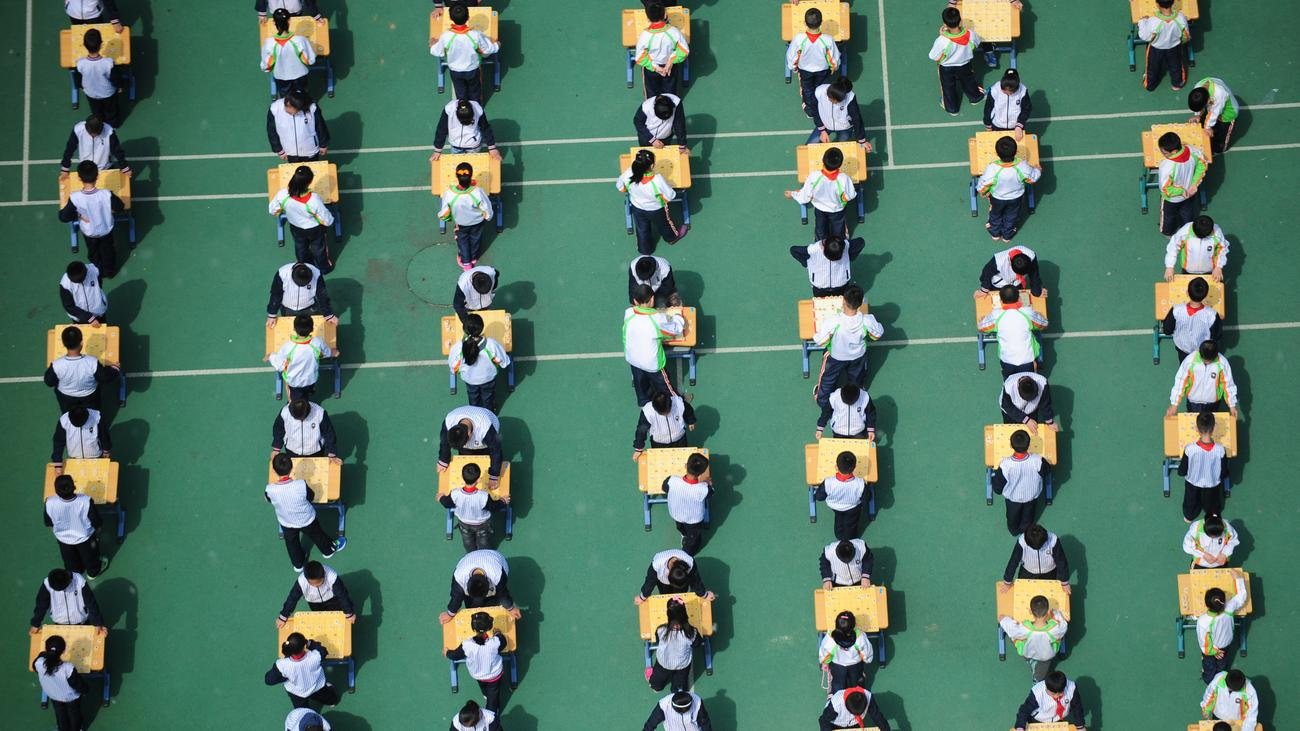 Smart uniform: Chinese schools monitor students in uniform