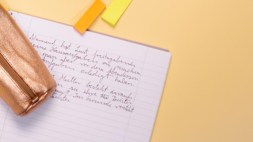 Grundschule: Lehrer bemängeln immer schlechtere Handschrift der Schüler