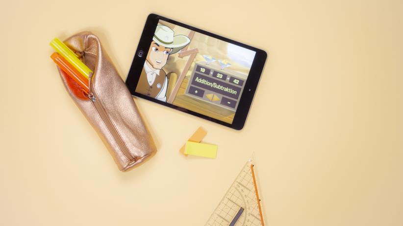 Virtuelles Lernen: Im Wilden Westen muss man auch rechnen können: Gamifizierte Lerngeschichten sollen die Motivation steigern.