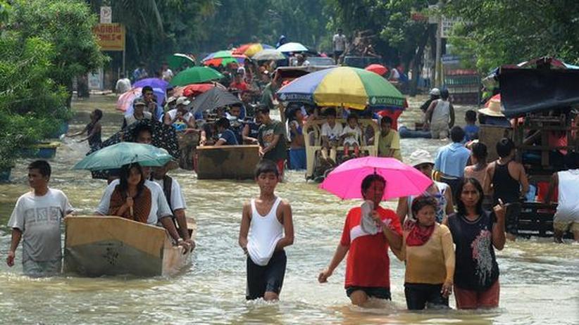 Naturkatastrophe: Philippinen rüsten sich für neuen Tropensturm