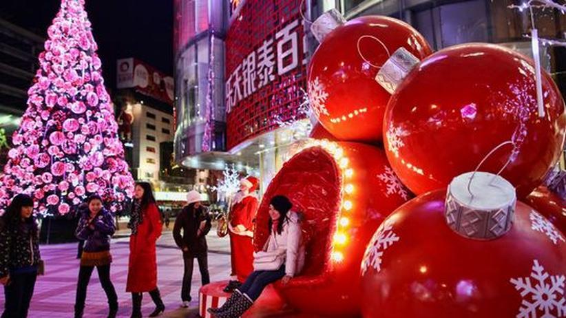 Weihnachten in Peking